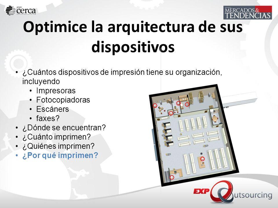 Optimice la arquitectura de sus dispositivos