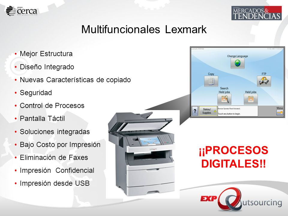 Multifuncionales Lexmark