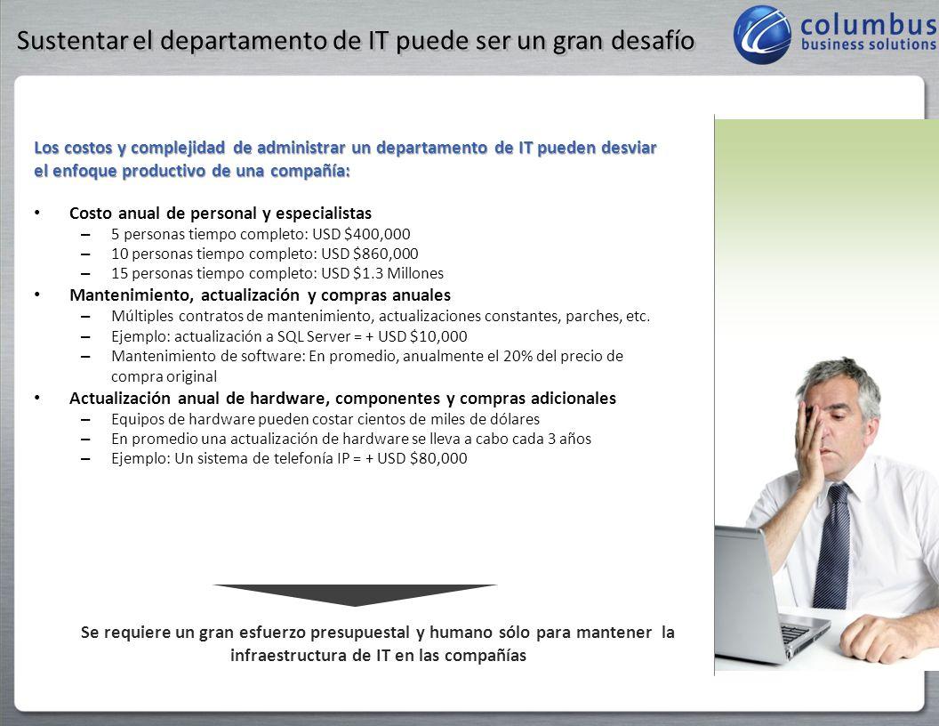 Sustentar el departamento de IT puede ser un gran desafío