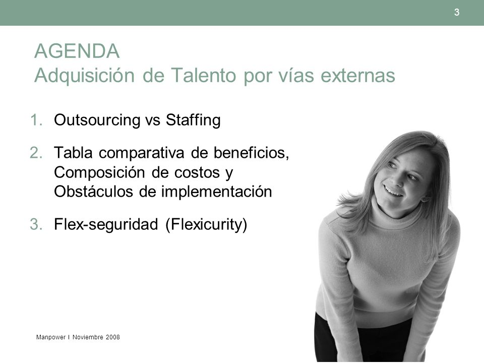 AGENDA Adquisición de Talento por vías externas