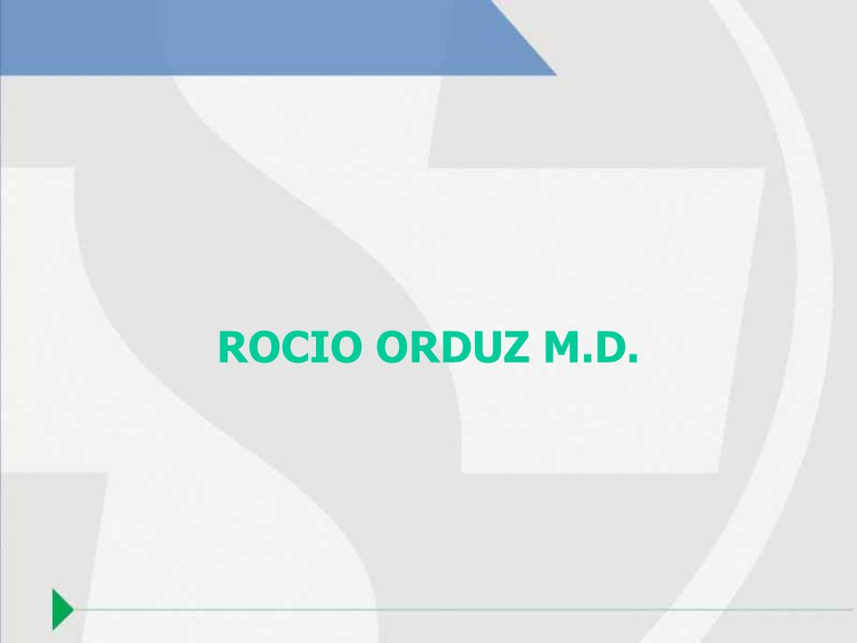 ROCIO ORDUZ M.D.