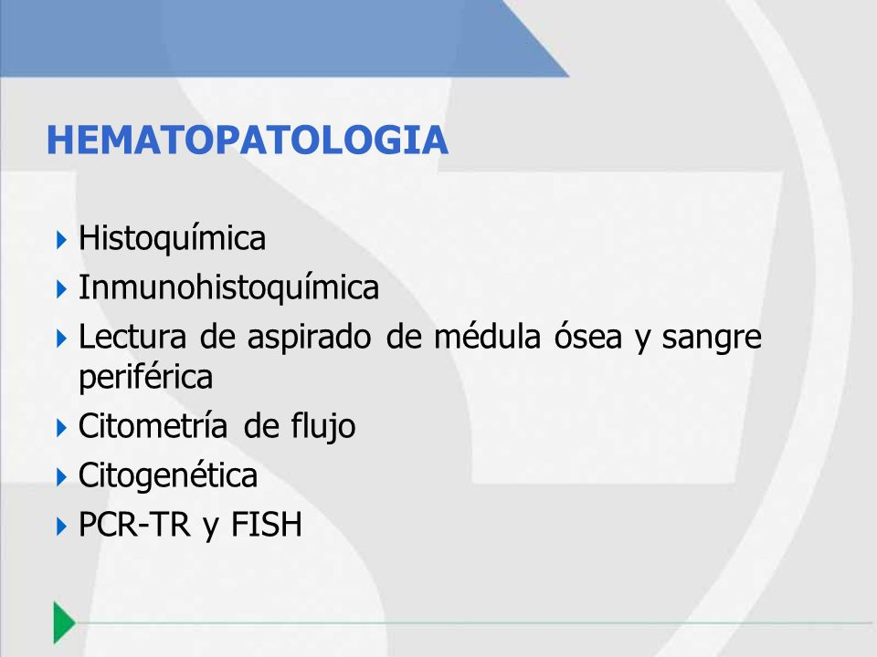 HEMATOPATOLOGIA Histoquímica Inmunohistoquímica