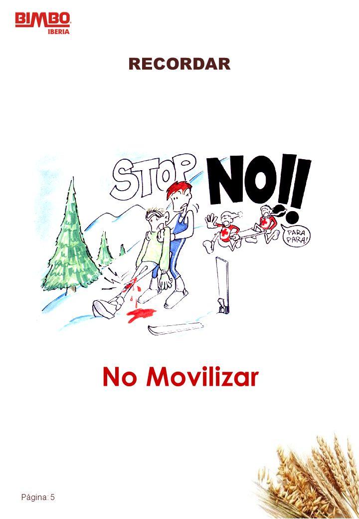 RECORDAR No Movilizar