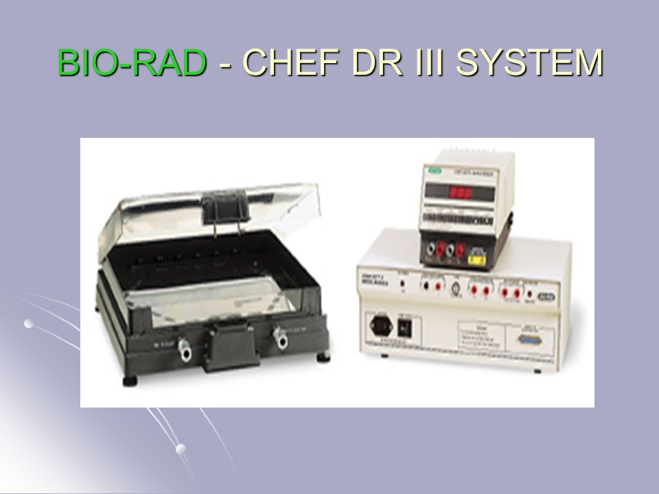 BIO-RAD - CHEF DR III SYSTEM