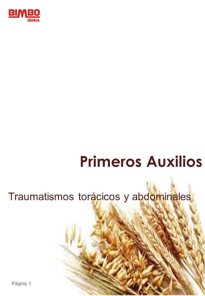 Traumatismos torácicos y abdominales
