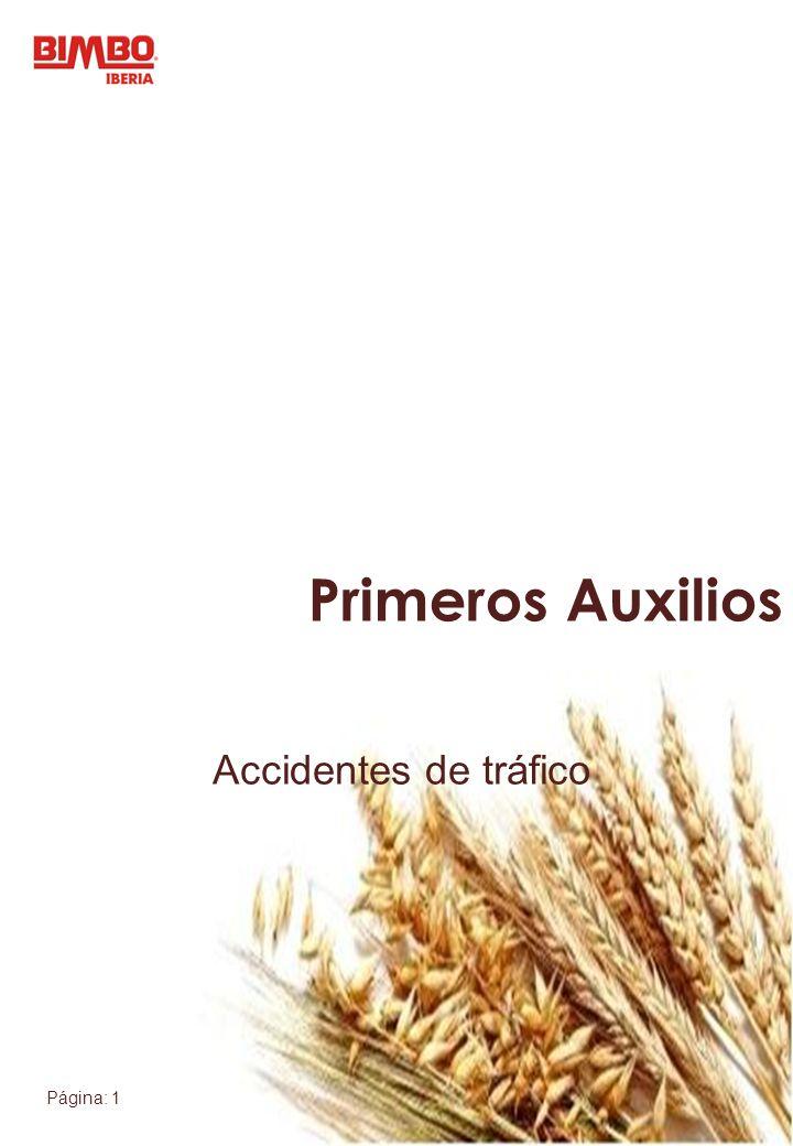 Primeros Auxilios Accidentes de tráfico
