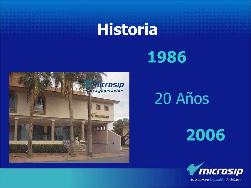 Historia 1986 20 Años 2006
