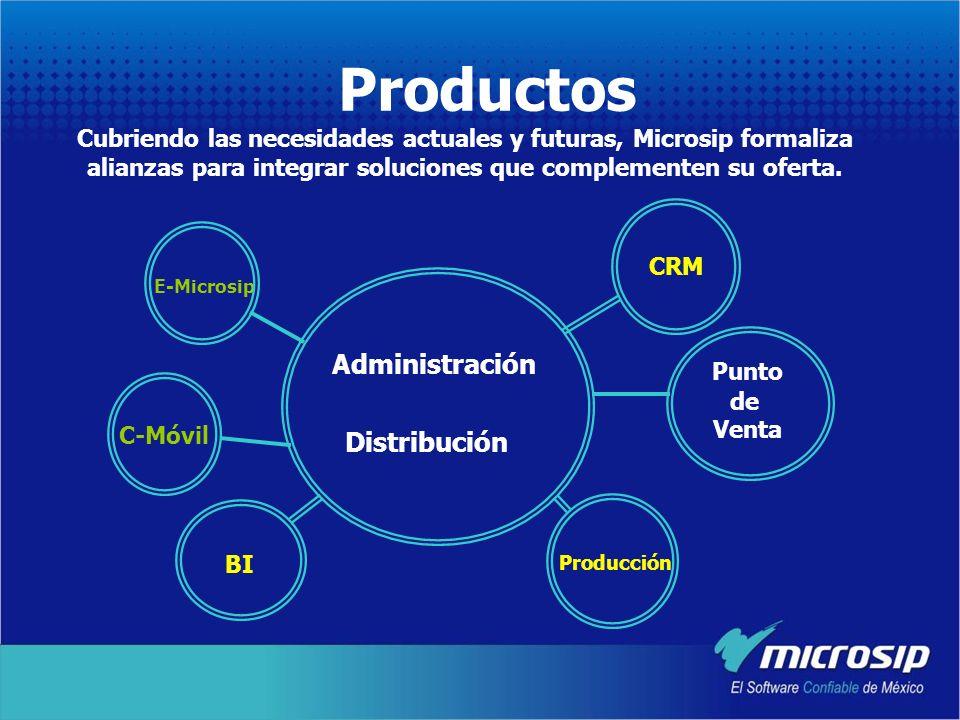 Productos Cubriendo las necesidades actuales y futuras, Microsip formaliza alianzas para integrar soluciones que complementen su oferta.