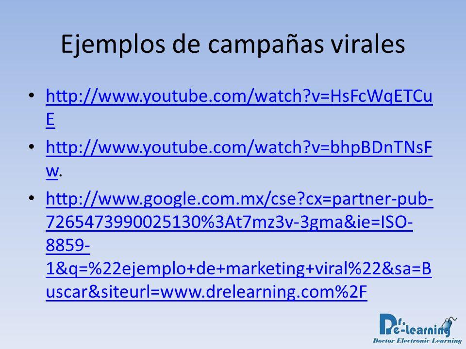 Ejemplos de campañas virales