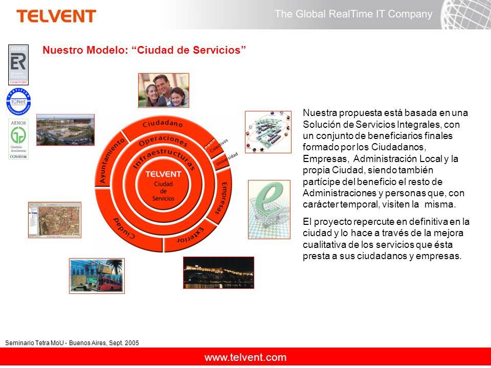 Nuestro Modelo: Ciudad de Servicios