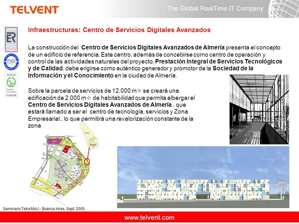 Infraestructuras: Centro de Servicios Digitales Avanzados