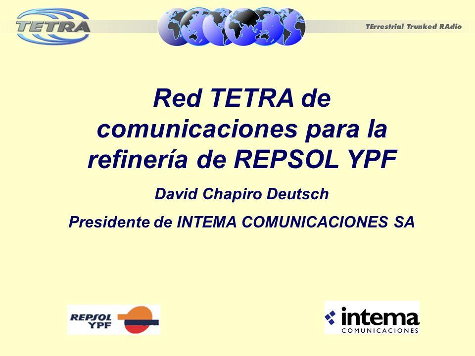 Red TETRA de comunicaciones para la refinería de REPSOL YPF