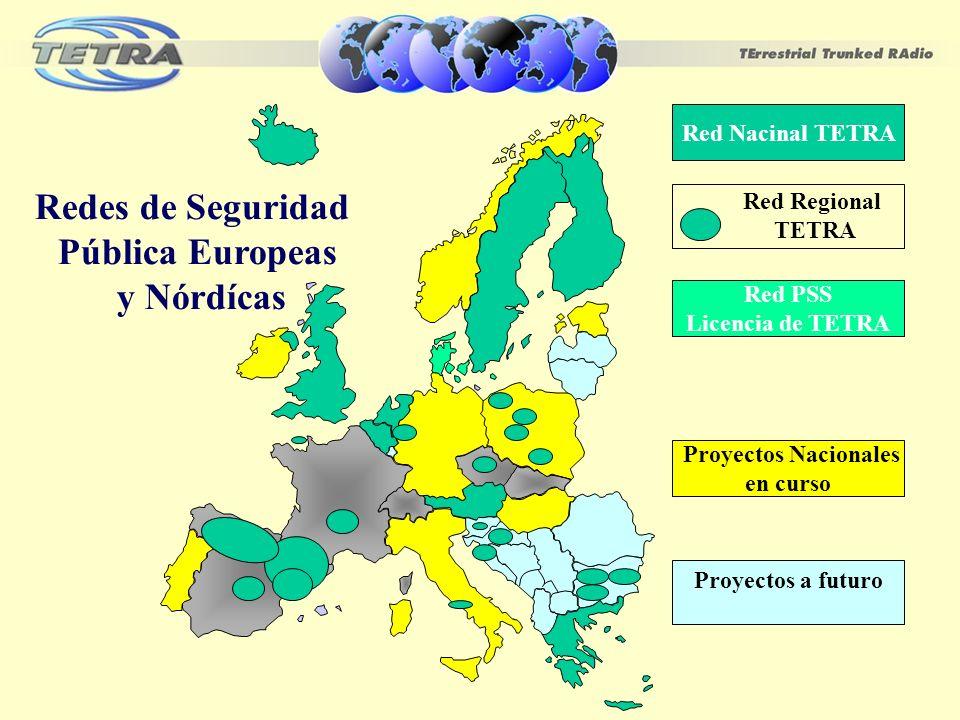 Redes de Seguridad Pública Europeas y Nórdícas