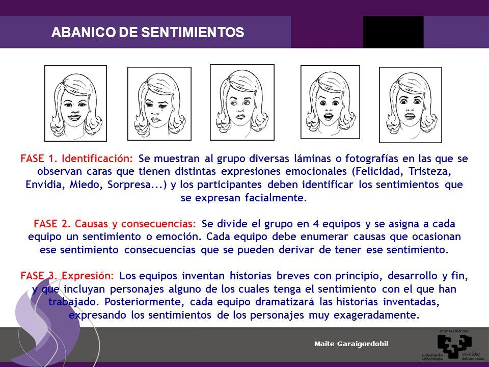 ABANICO DE SENTIMIENTOS