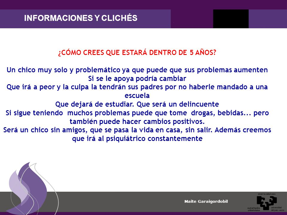 INFORMACIONES Y CLICHÉS