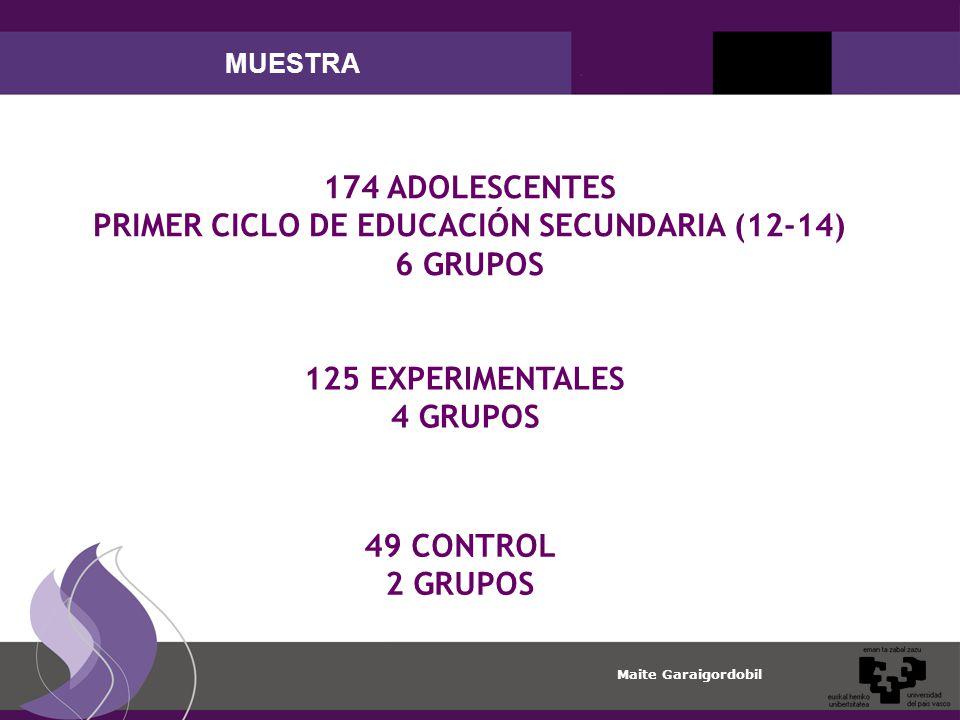 PRIMER CICLO DE EDUCACIÓN SECUNDARIA (12-14)