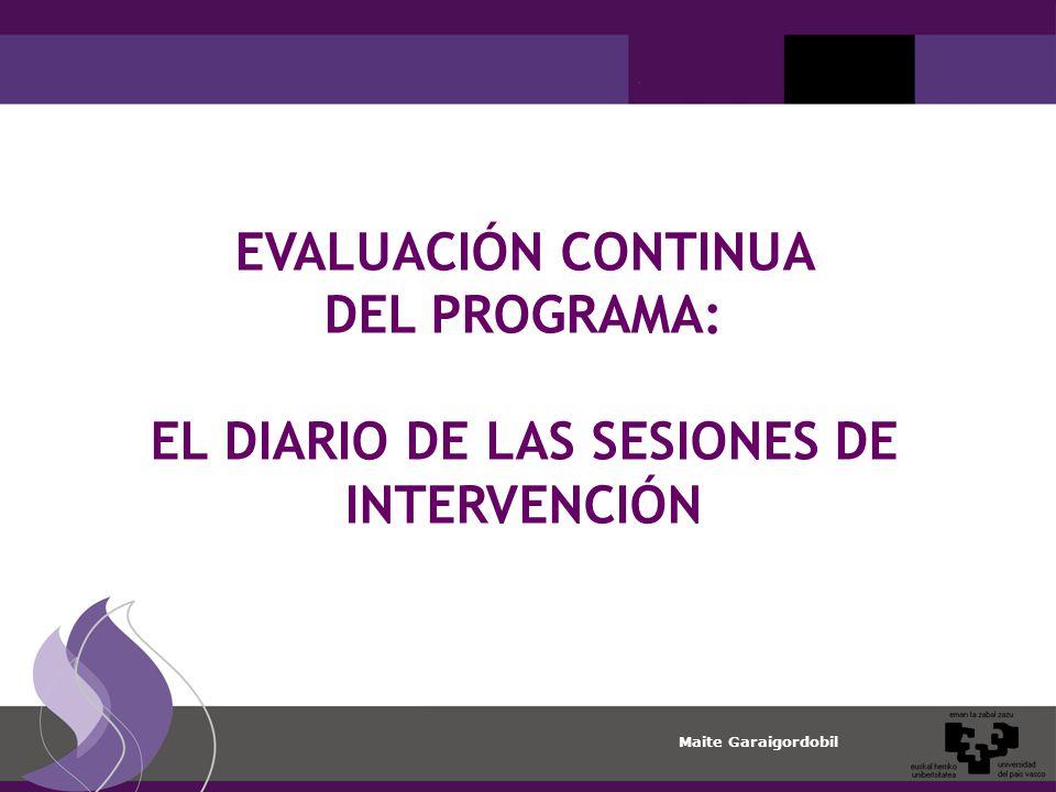 EL DIARIO DE LAS SESIONES DE INTERVENCIÓN