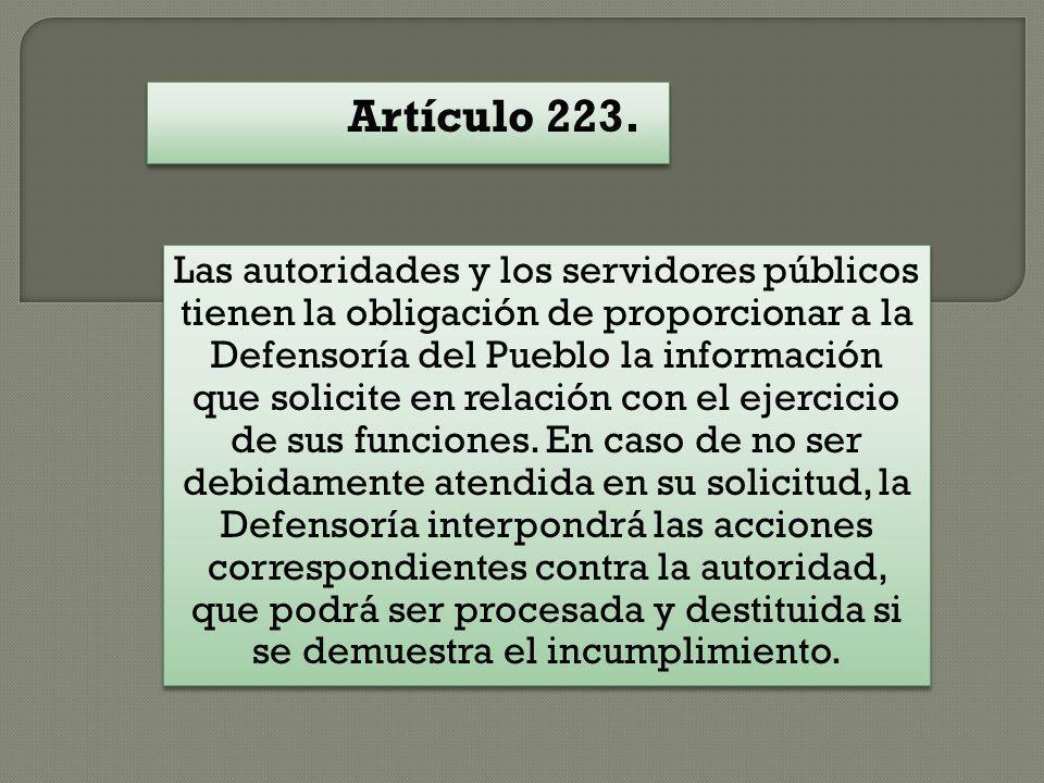 Artículo 223.