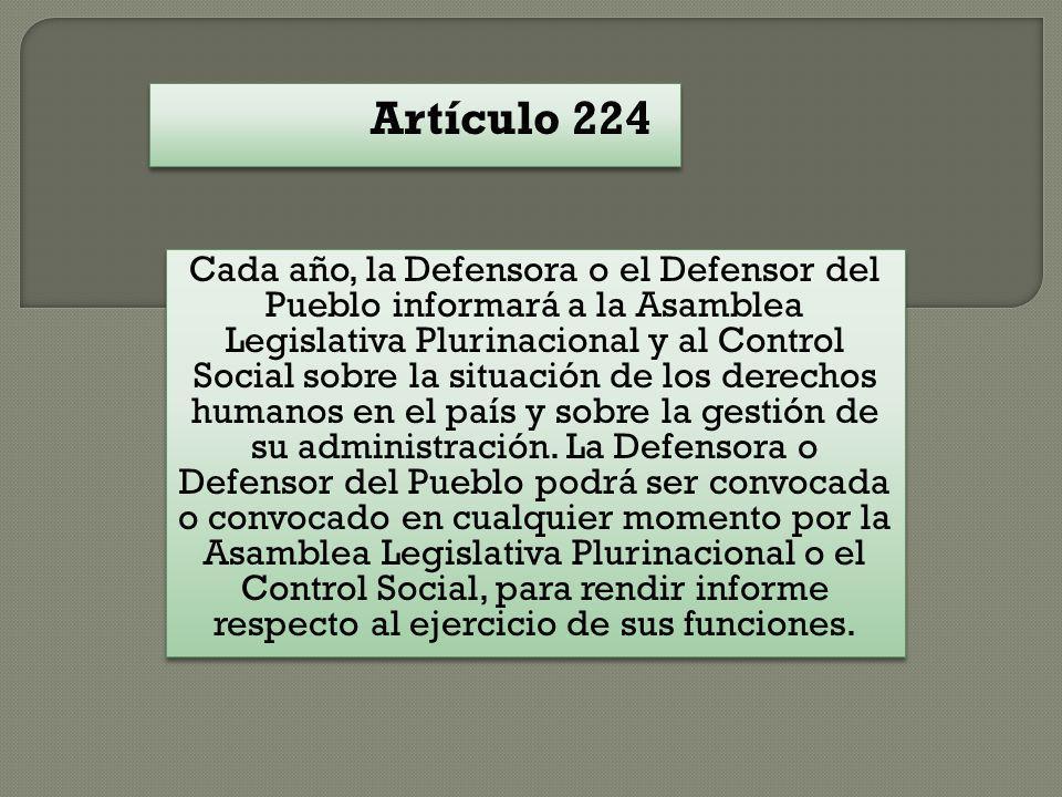 Artículo 224