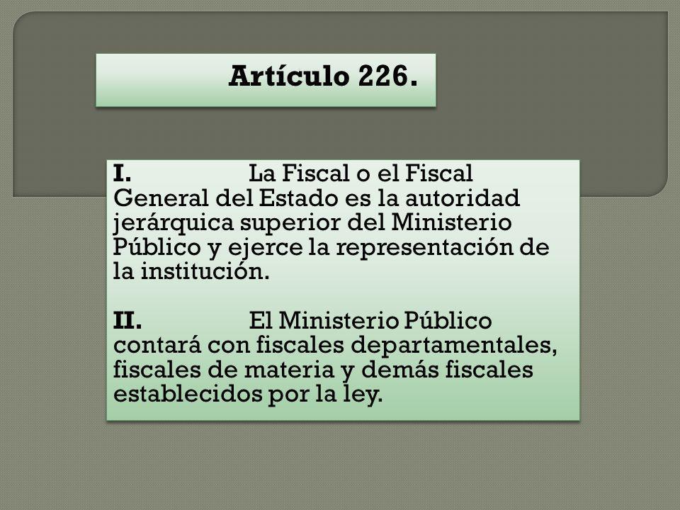 Artículo 226.