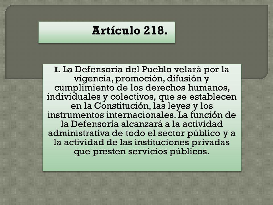 Artículo 218.