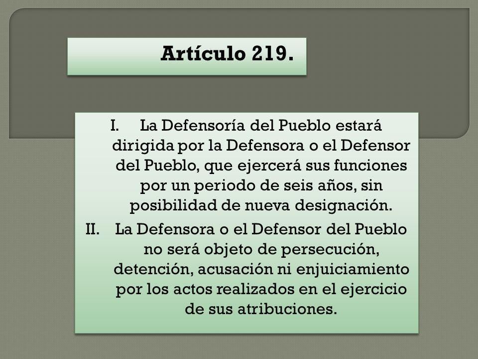 Artículo 219.