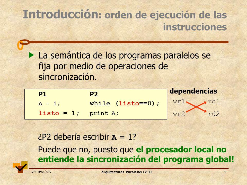 Arquitecturas Paralelas 12-13