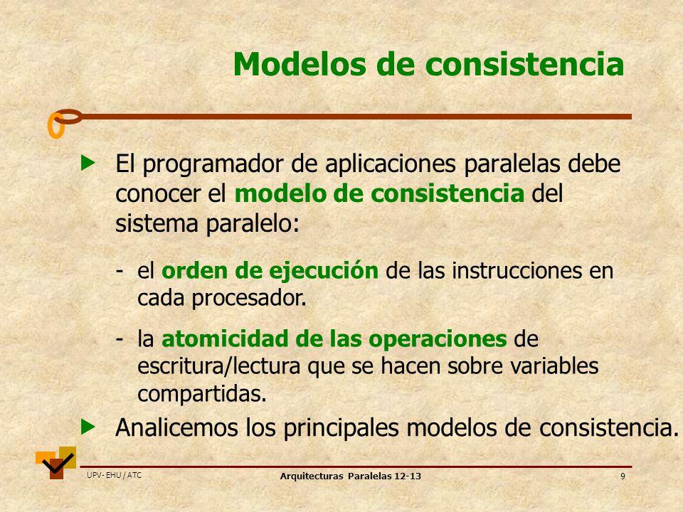 Modelos de consistencia