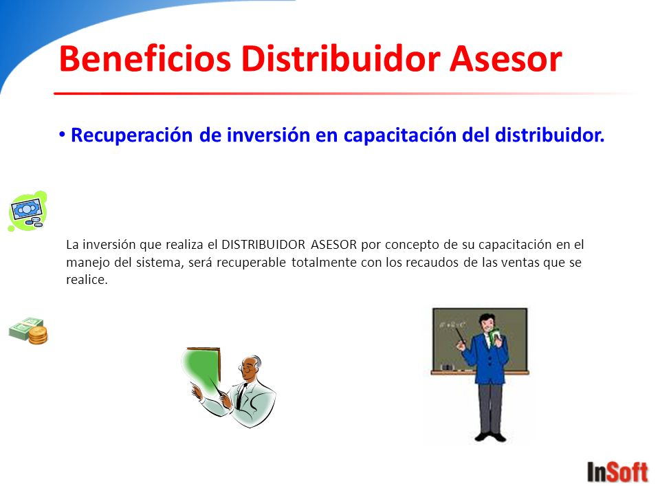 Beneficios Distribuidor Asesor