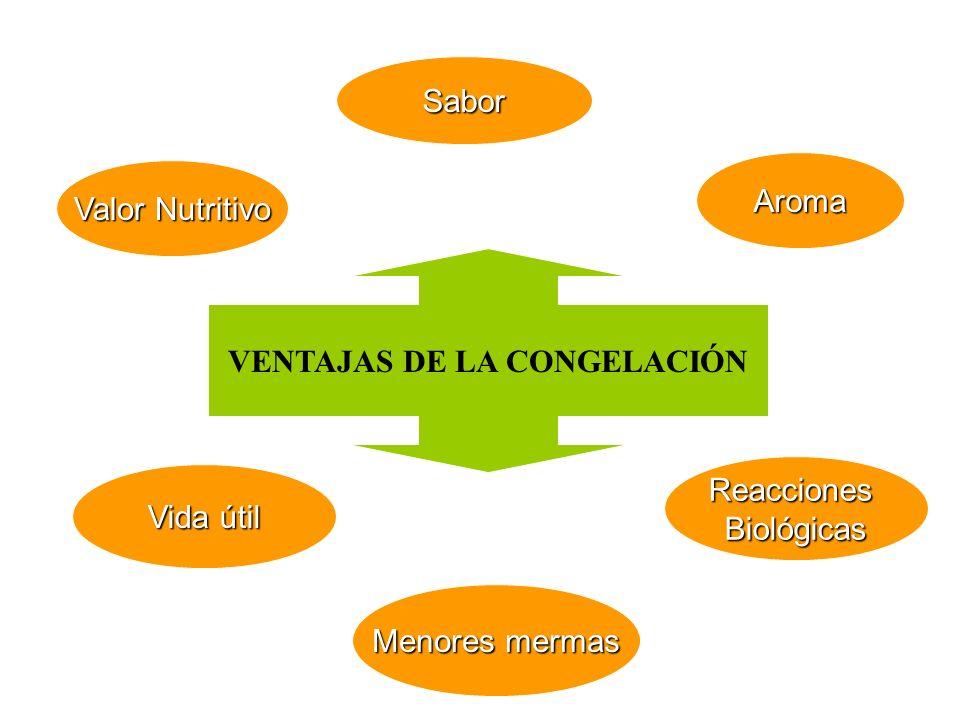 VENTAJAS DE LA CONGELACIÓN