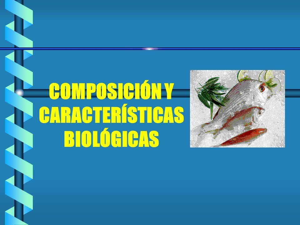 COMPOSICIÓN Y CARACTERÍSTICAS BIOLÓGICAS