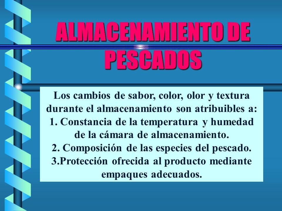 ALMACENAMIENTO DE PESCADOS