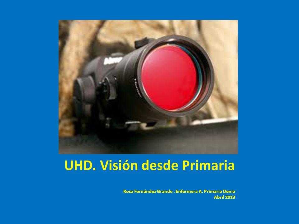 UHD. Visión desde Primaria