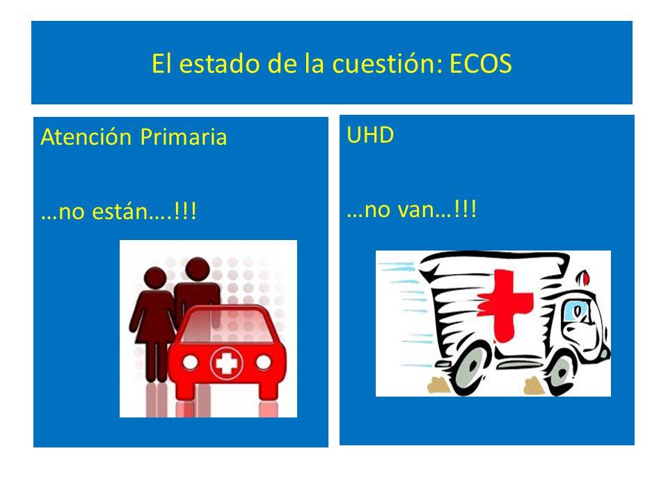 El estado de la cuestión: ECOS