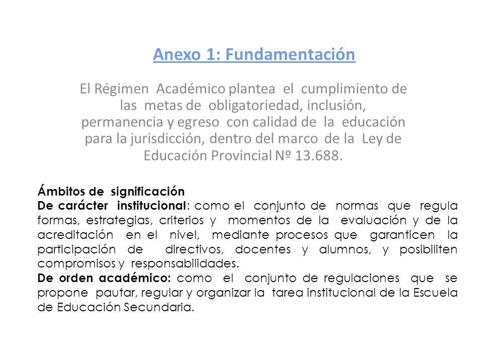 Anexo 1: Fundamentación