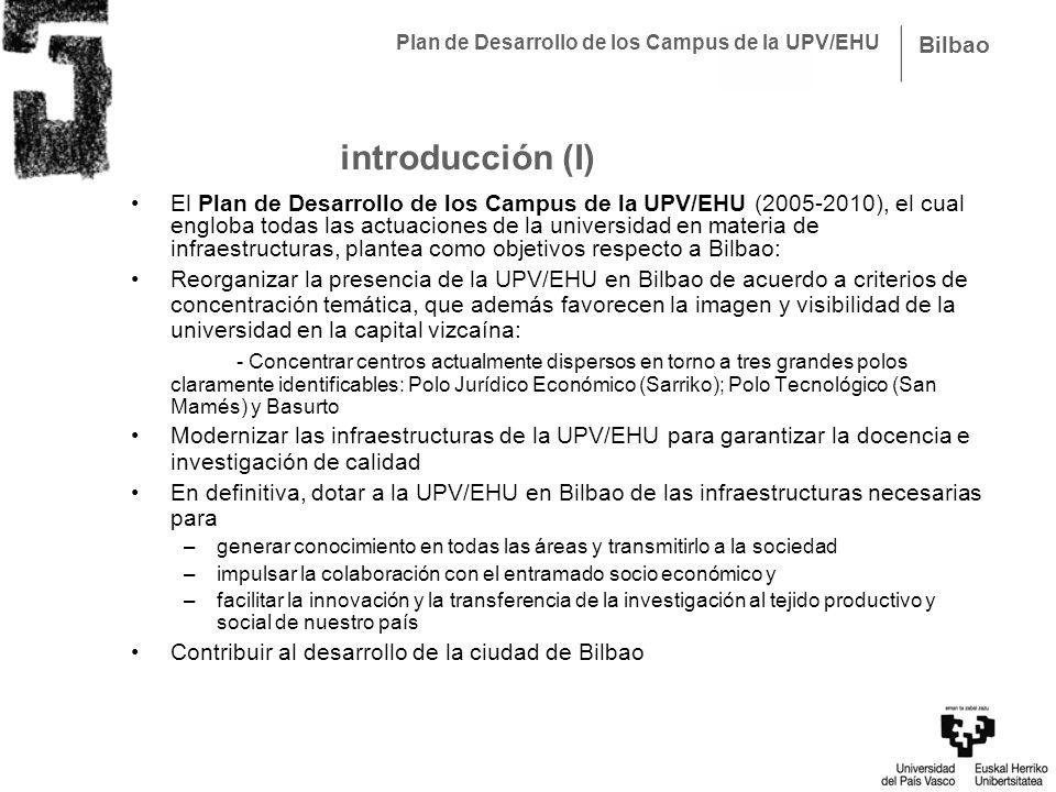 Plan de Desarrollo de los Campus de la UPV/EHU