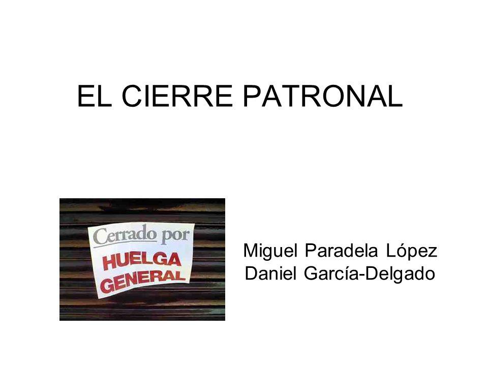 Miguel Paradela López Daniel García-Delgado