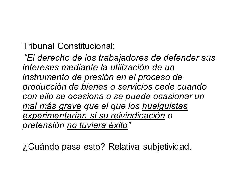 Tribunal Constitucional: