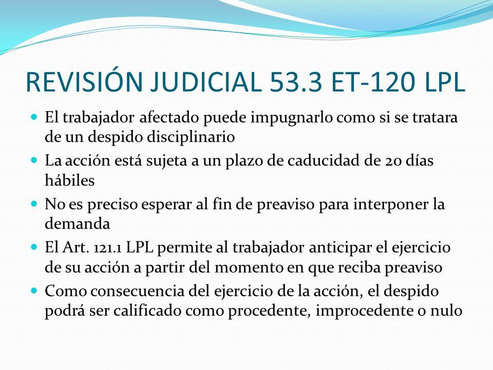 REVISIÓN JUDICIAL 53.3 ET-120 LPL