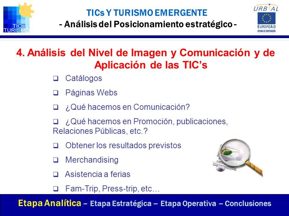 TICs Y TURISMO EMERGENTE - Análisis del Posicionamiento estratégico -