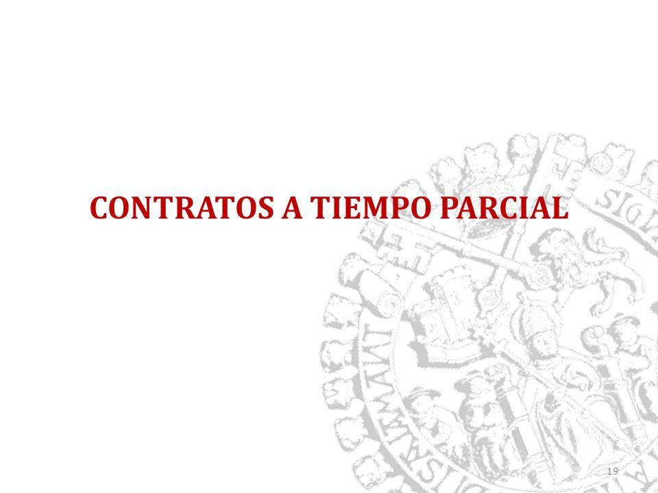 CONTRATOS A TIEMPO PARCIAL