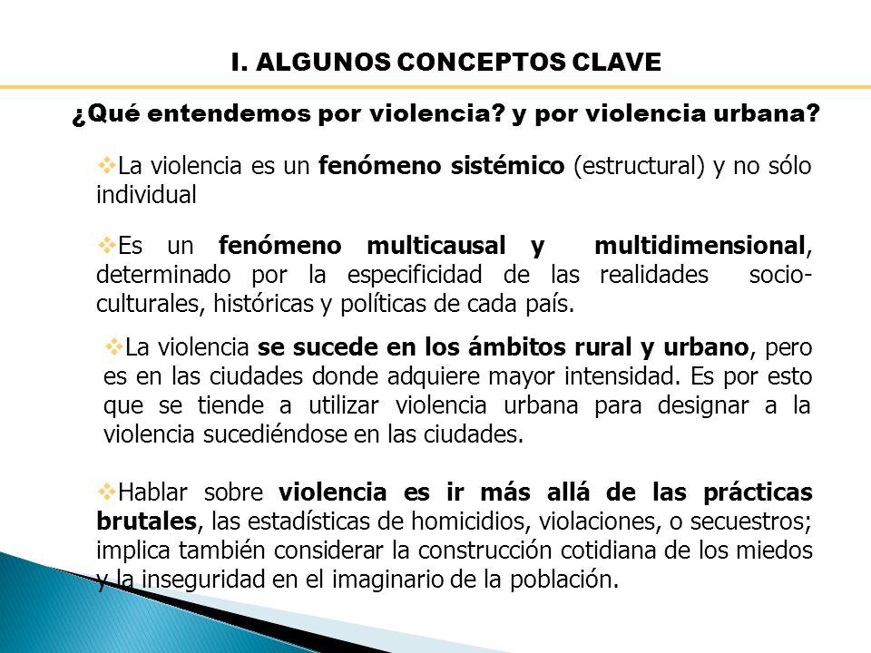 I. ALGUNOS CONCEPTOS CLAVE