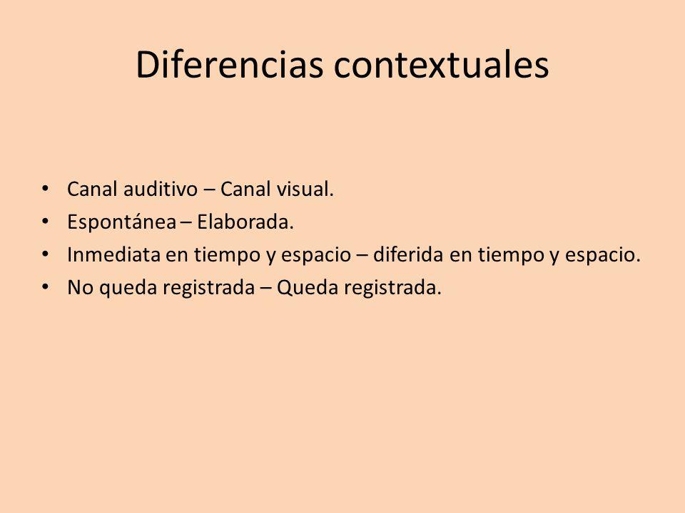 Diferencias contextuales