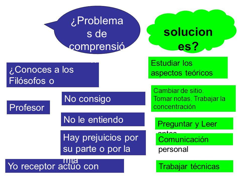 ¿Problemas de comprensión