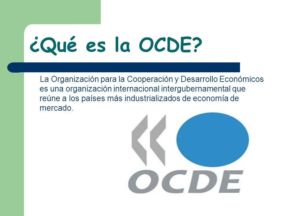 ¿Qué es la OCDE