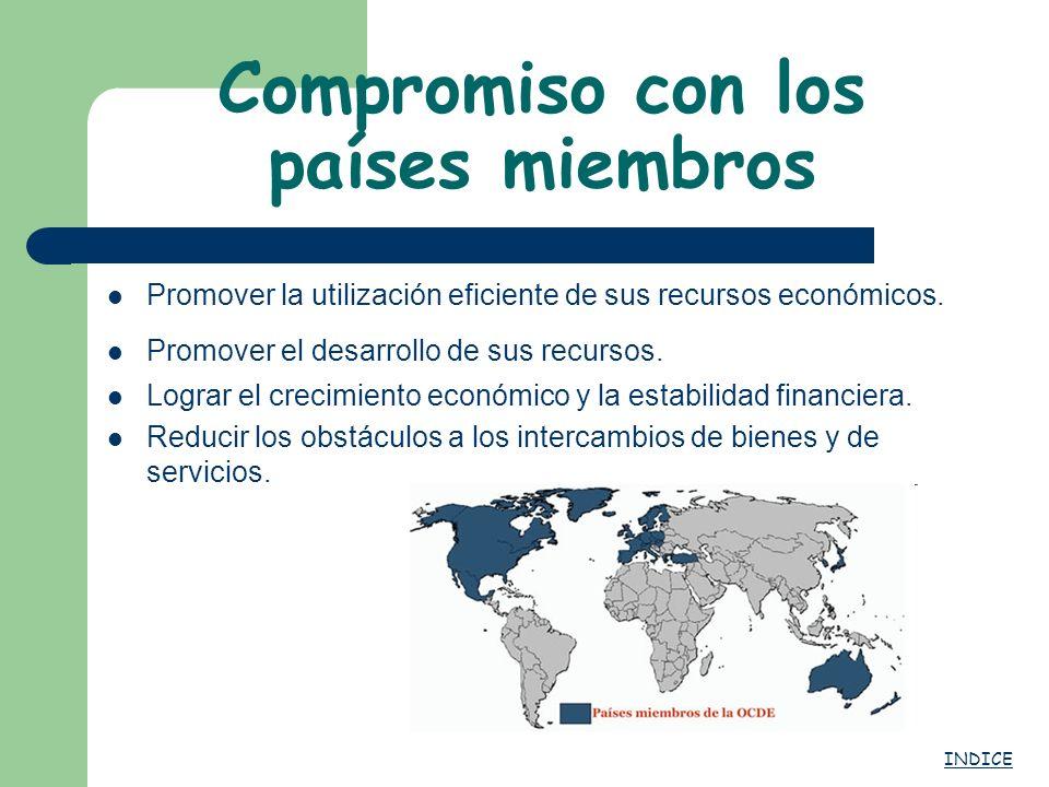 Compromiso con los países miembros
