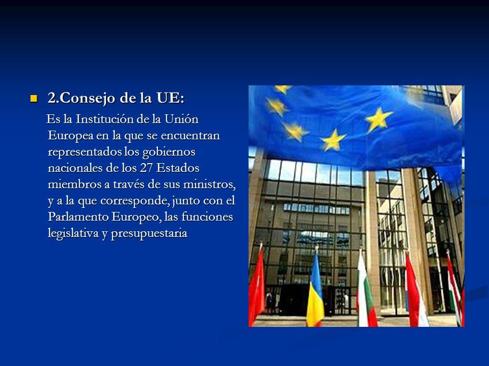 2.Consejo de la UE: