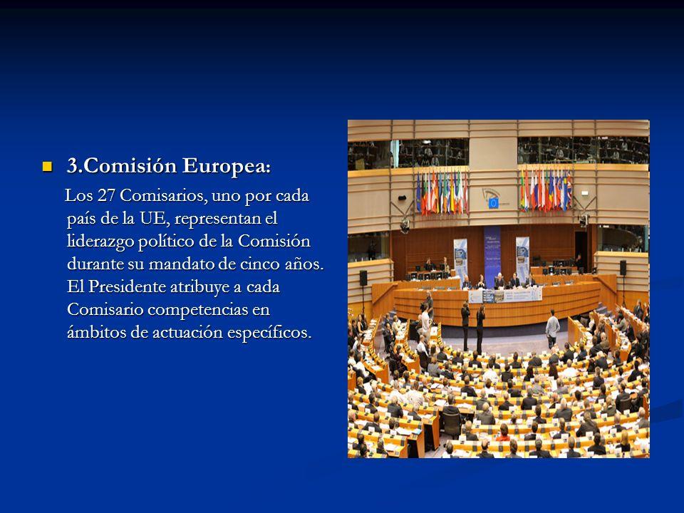 3.Comisión Europea: