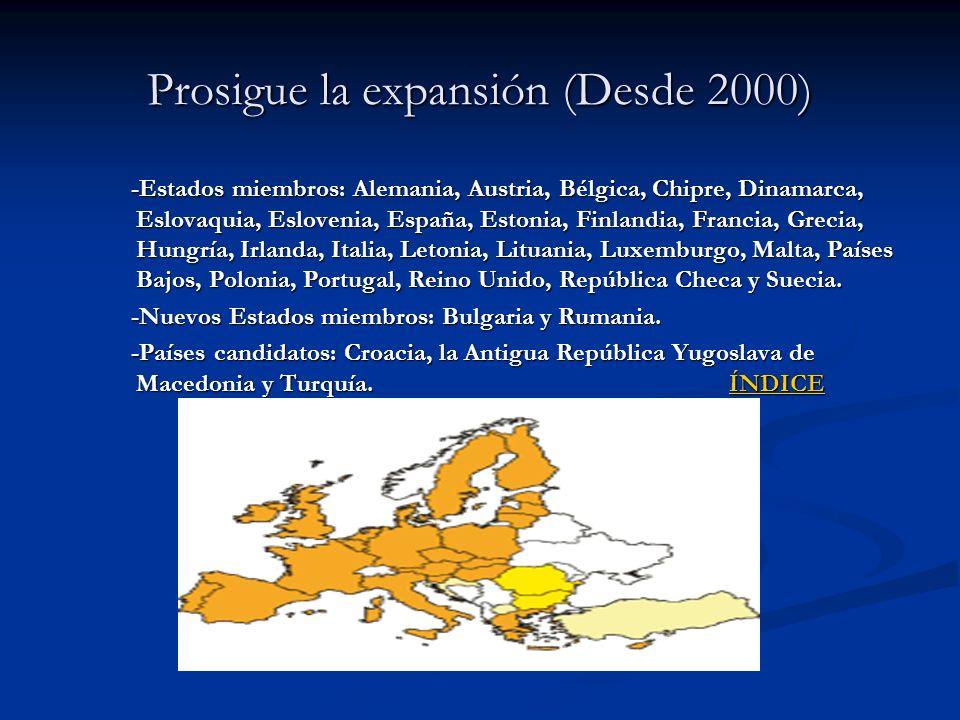 Prosigue la expansión (Desde 2000)