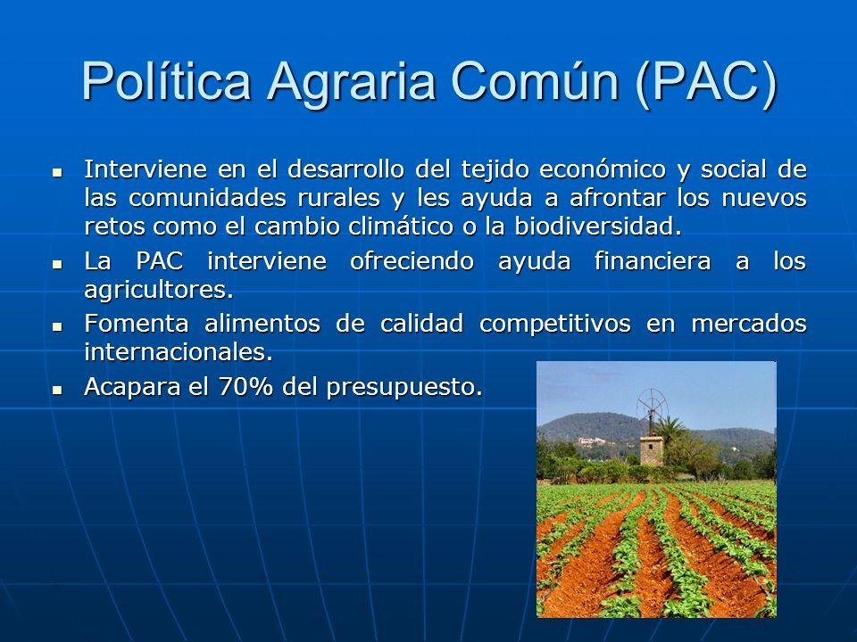 Política Agraria Común (PAC)